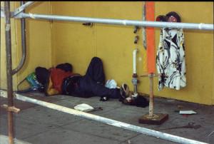 Se estima que hay unos 6,000 desamparados en San Francisco. Foto: MedCity News.
