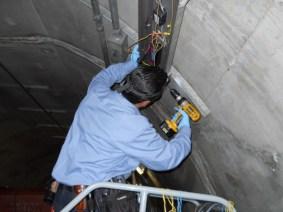 El costo de reemplazar las lámparas será de $9 millones. Foto: Metro.