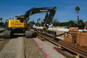 Obras en la autopista 210.