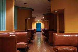 Los asientos del bar