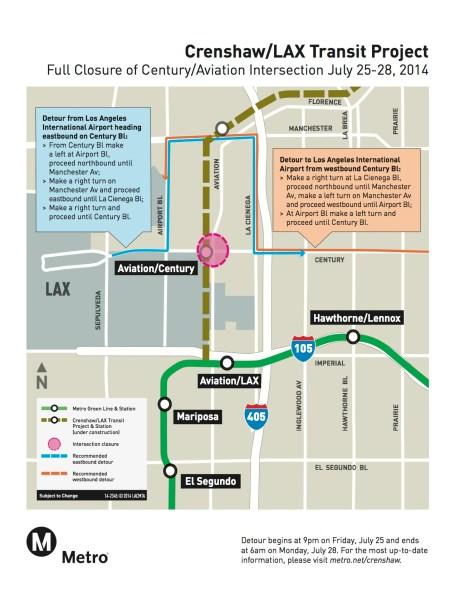 Crenshaw:LA detour