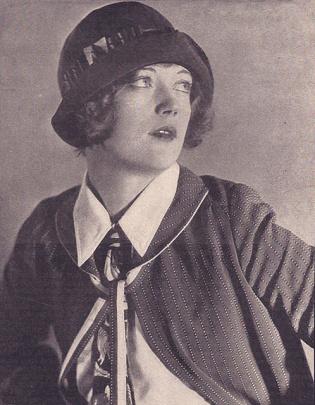 La estrella de cine Marion Davies.