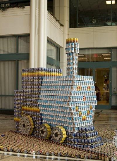"""""""The Little Engine"""". Foto: Página oficial de Construction LA en Facebook."""