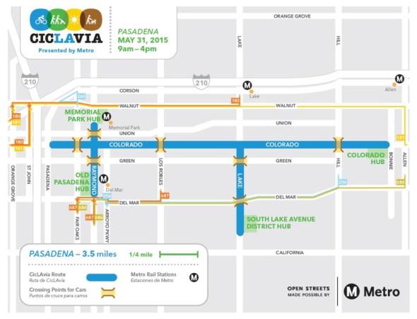 ciclavia-pasadena-detour-map