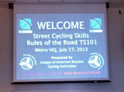 bike classes