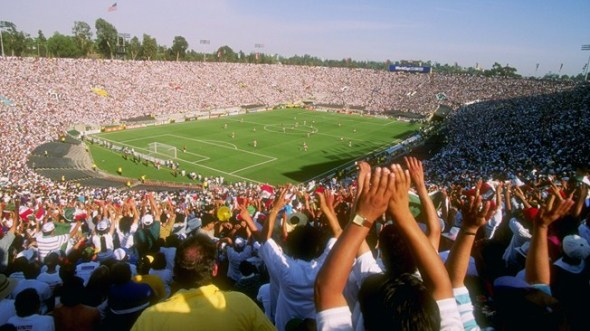 Se espera que este sábado acudan unos 90 mil aficionados al partido entre México y Estados Unidos. Foto: FIFA.