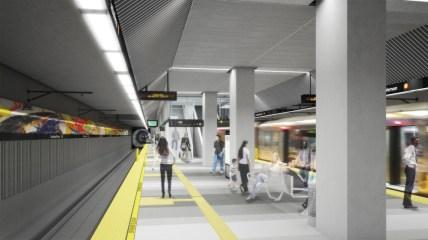 Estación Leimert Park.