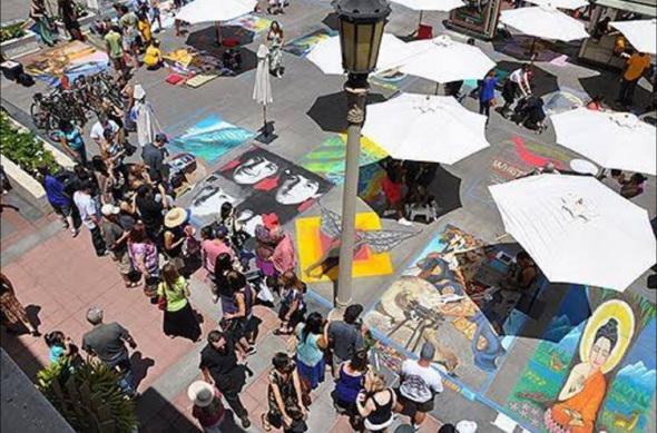 Foto: Página oficial en Facebook de Pasadena Chalk Festival.