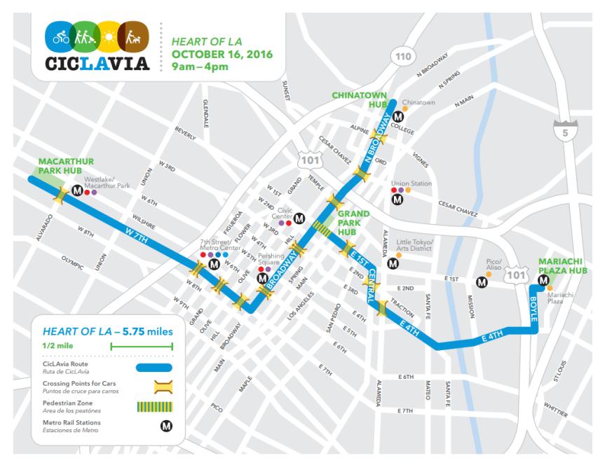 ciclavia-2016-map