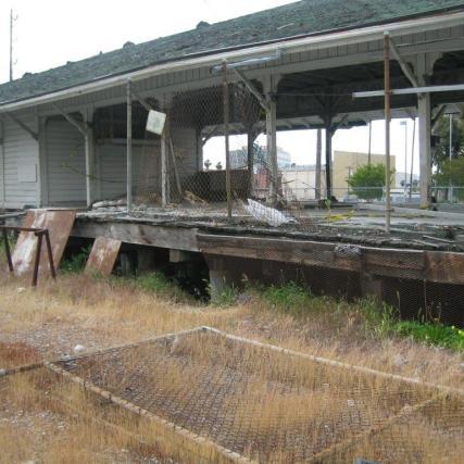 El depósito antes de ser restaurado.