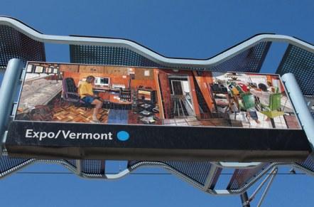 "Expo/Vermont Station: Jessica Polzin McCoy, ""Neighborhood Portrait: Reconstructed"""