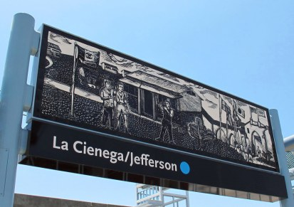"""La Cienega/Jefferson Station: Daniel Gonzalez, """"Engraved in Memory"""""""