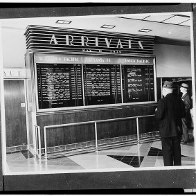 Amtrak, Metrolink and Metro Rail are the three railroads serving the station these days. Photo: Library of Congress.