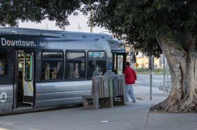 It's a busy stop used by Metro's popular Silver Line and Foothill Transit, among others.