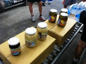 The ride stopped at a pickle factory! (Mmmmm pickles)