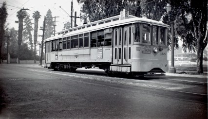 9 Line at Lincoln Park Avenue & Main, Los Angeles. Photo by Alan Weeks.