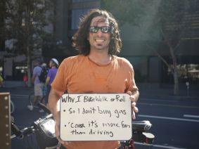 Don't buy gas, more fun than driving