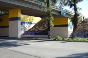 Improved pedestrian access through the underpass.