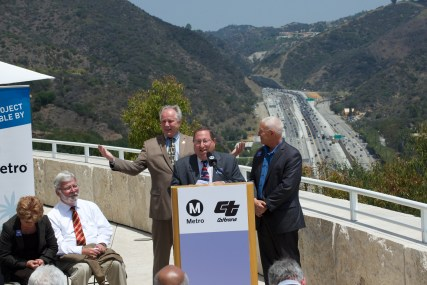 L.A. Councilman Paul Koretz who represents the 5th district, which sits alongside the 405.