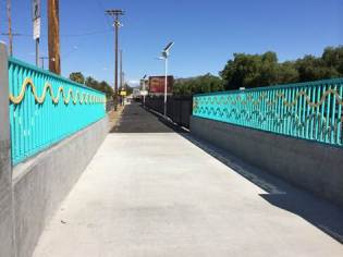 San Fernando Road Bike Path