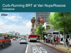 The East San Fernando Valley Transit Corridor project released new renderings this fall.