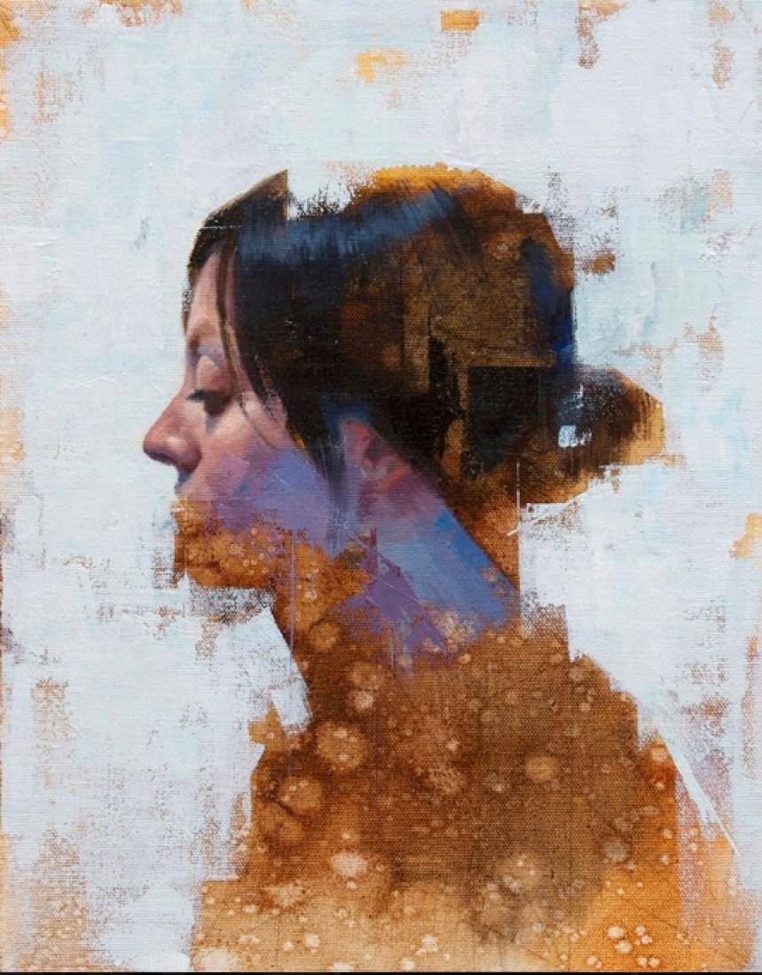 """""""Totem"""" by John Wentz via LA Art Show Official Facebook Page."""
