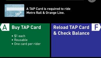 Metro's response to CityWatch article on problems with TAP cards