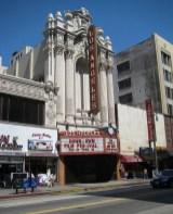 Facade of the Los Angeles Theatre (Tony Hoffarth, Flickr/CC).