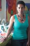 Artist June Edmonds.
