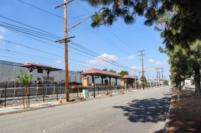 Another view of the Duarte Station, which is a short walk to the entrance to the City of Hope campus.