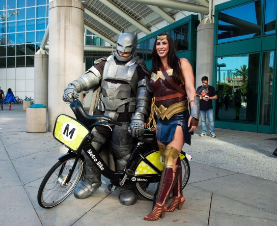 It's not the Batmobile or invisible plane, but it's reliable enough for Batman and Wonder Woman.