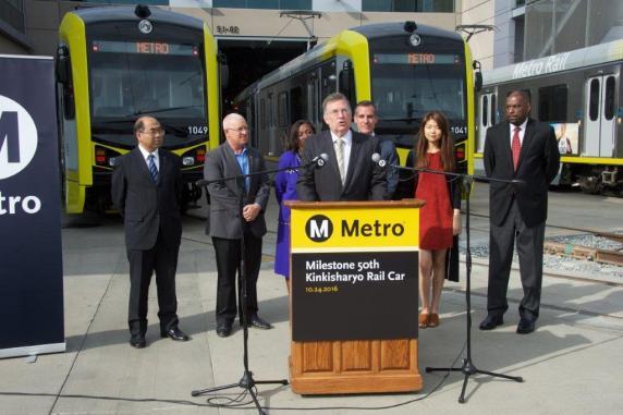 Metro Board Chair John Fasana. Photos by Gary Leonard for Metro.