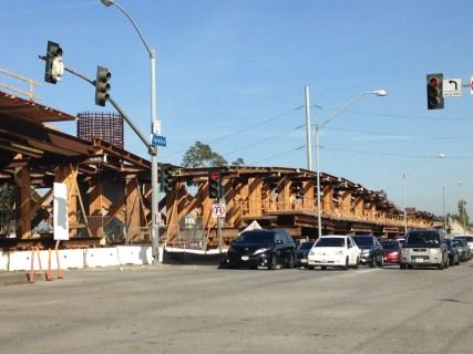 Bridge over the 405.