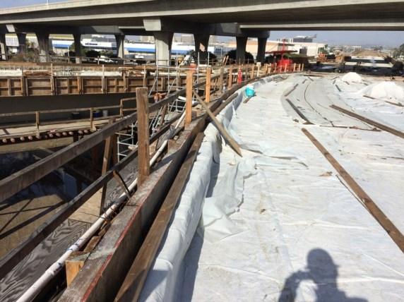 Green Line underpass.