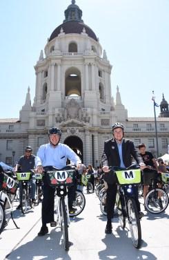 Metro Bike Share expanded to Pasadena on July 14, 2017. Photos by Juan Ocampo/Metro.