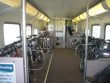 Metrolink Bike Train