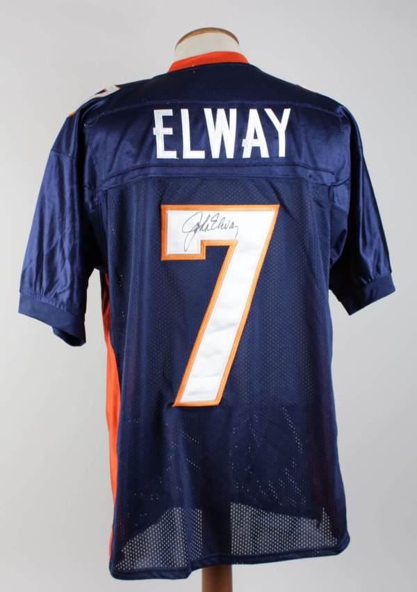 Denver Broncos John Elway Signed Jersey