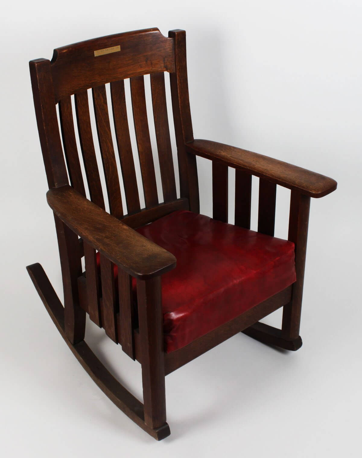 Red Rocking Chair Ted Williams Rocking Chair Boys Club 1960s Boston Red Sox