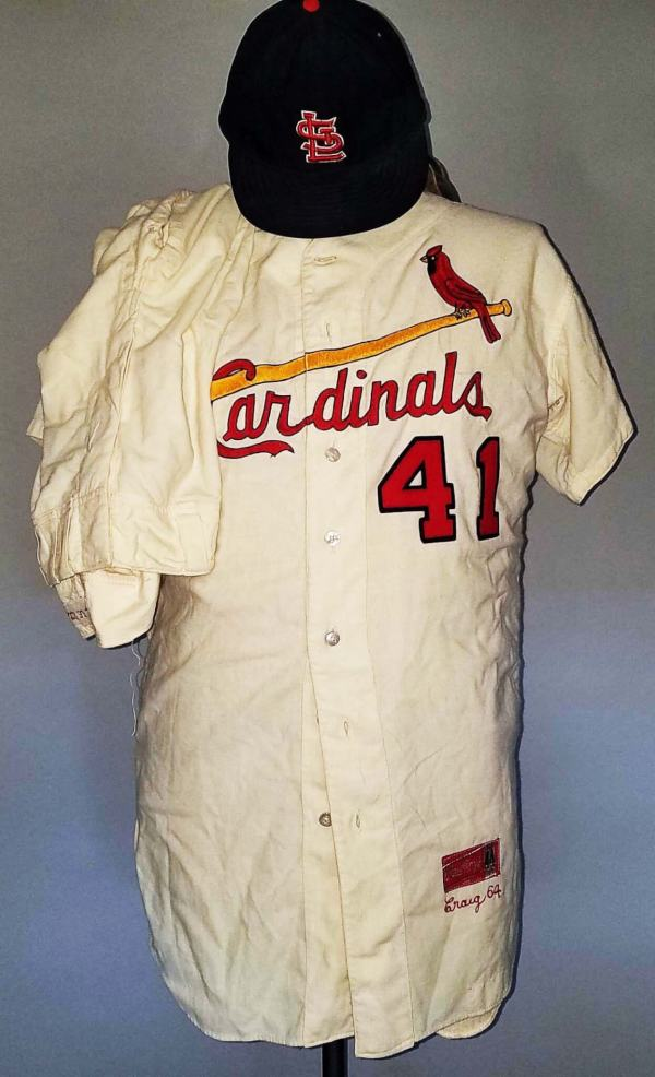 1964 Roger Craig Game-worn St. Louis Cardinals Uniform