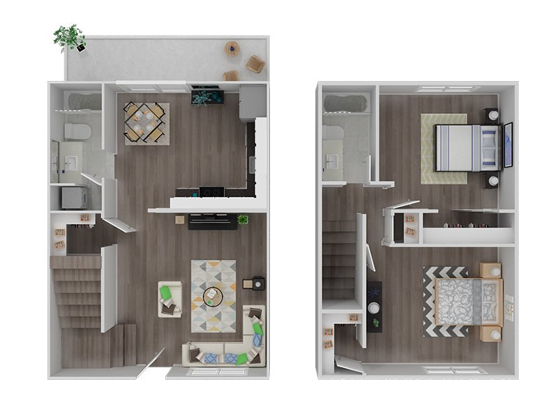 2 Bedroom 2 Bathroom Apartment priced at 2550  850 Sq Ft