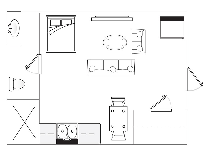 The Best 23 400 Sq Ft Floor Plans For Apartments