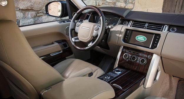 Interior Photo Of 2017 Land Rover Range Vogue Le