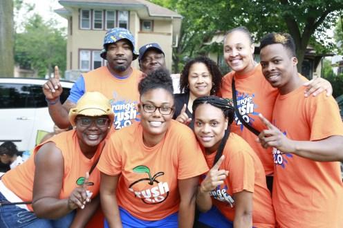 Orange Crush 2.0 kickball team