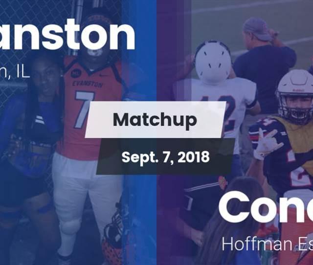 Evanston Hs Football Video Matchup Evanston Vs Conant 2018 Maxpreps