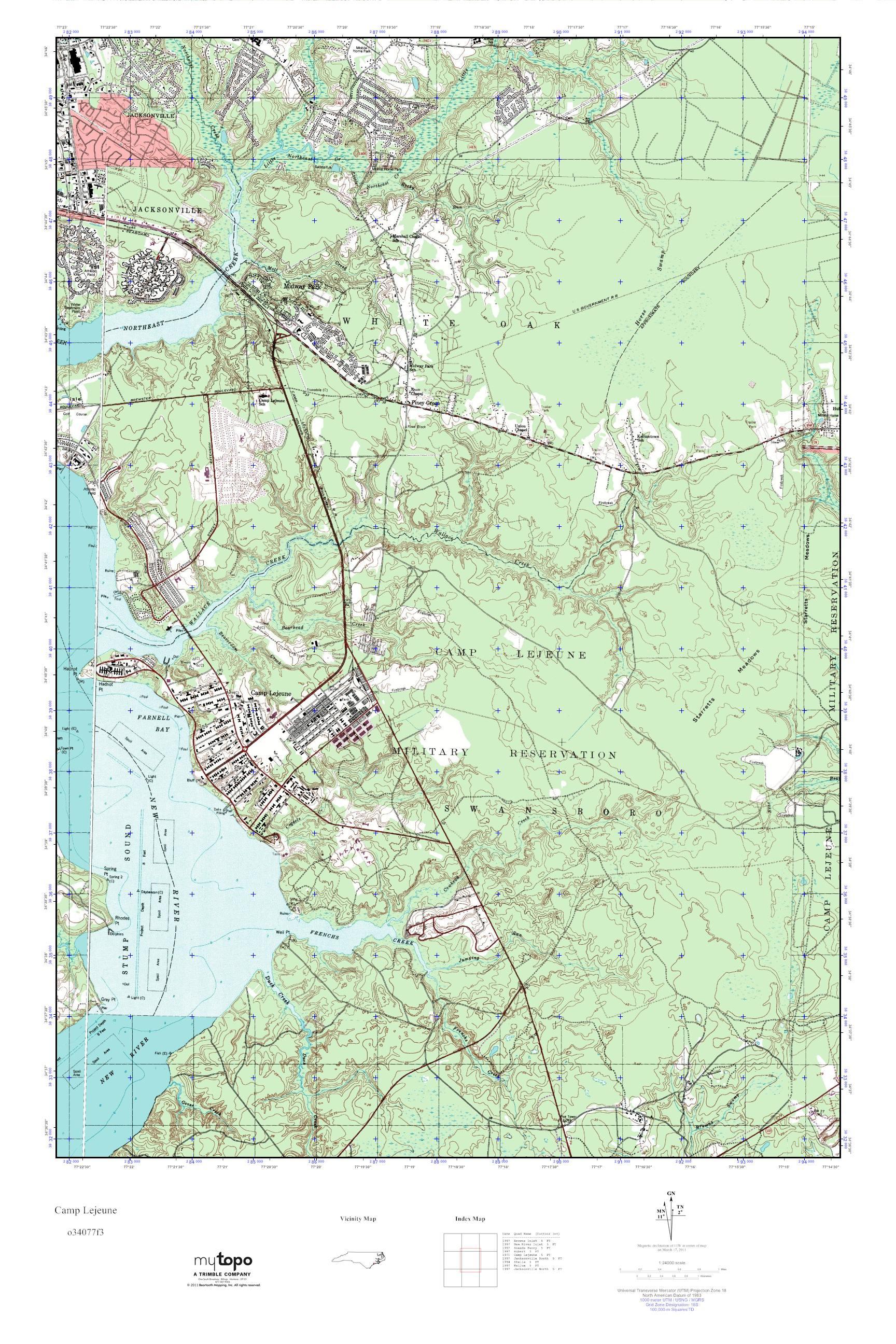 Camp Lejeune Map : lejeune, Lejeune, Building, Numbers, World, Atlas