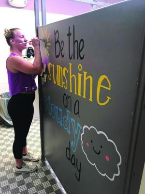 Painting to promote positivity  Hudson Valley 360