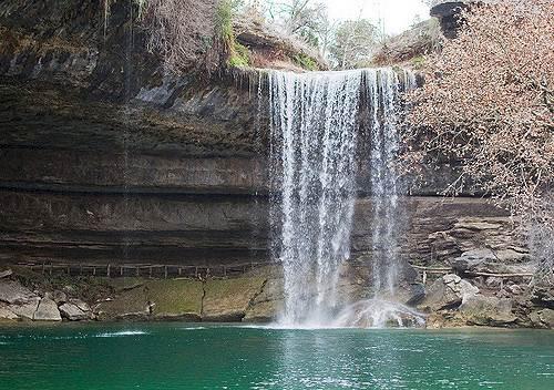 Zilker Waterfall