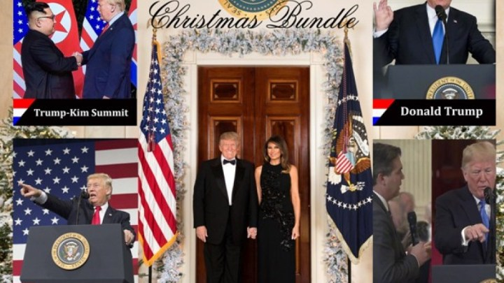 The Prefect Donald Trump Stocking Stuffer Package From PoliticalTradingCards.com