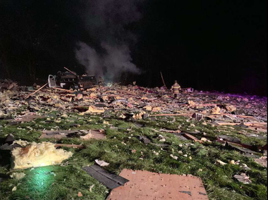 Explosion obliterates N.J. house, damages high school in blast felt for miles