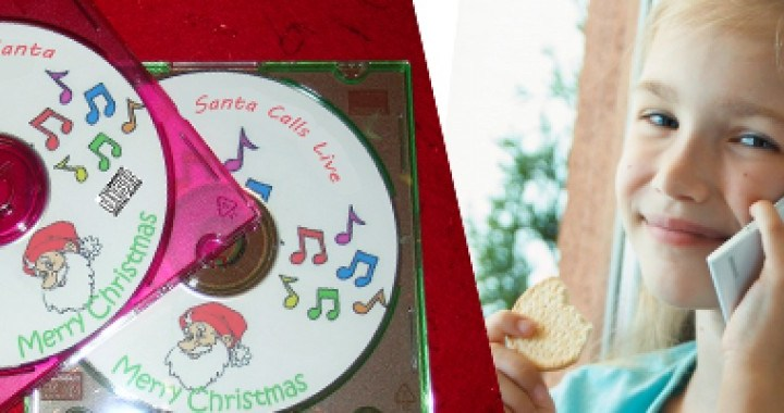 Live Phone Call From Santa and CD Recording of Conversation